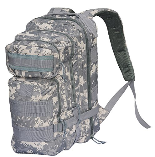 NEU US Army Assault Pack Rucksack Kampftasche Packtasche ACU AT Digital Camo 1 -