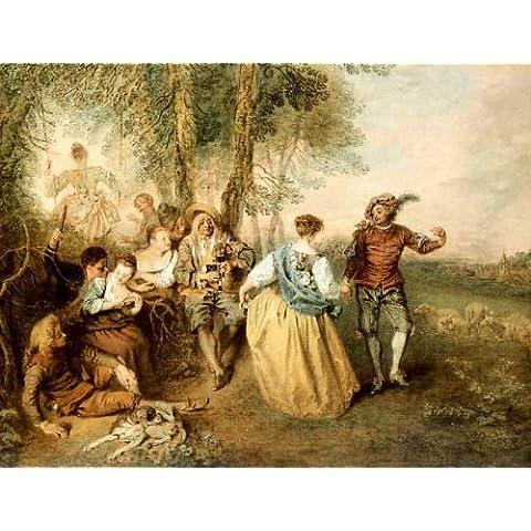 Impresión artística / Póster: Jean Antoine Watteau