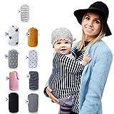 Fastique Kids Tragetuch - elastisches Babytragetuch für Früh- und...