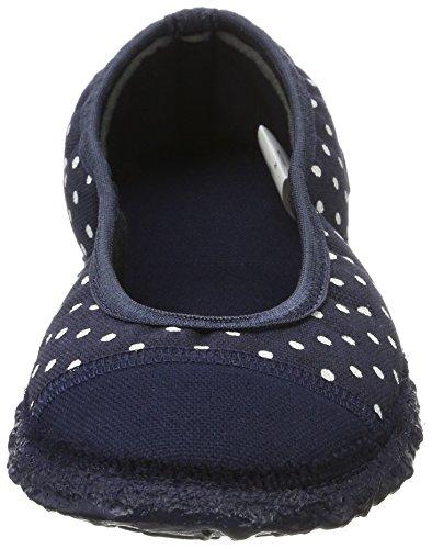 Nanga - Spitze, Pantofole Donna blu (marine)