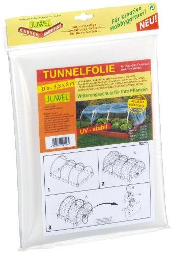 Juwel 20106 Tunnelfolie für Baustein-Frühbeet