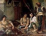Eugene Delacroix - Algerian Women in their Apartment