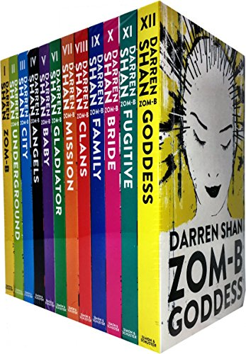 Best Sellers eBook Zom-B 12 Books Collection Set Pack By Darren Shan (Zom-B, Underground, City, Angles, Baby, Gladiator, Mission, Clans, Family, Bridge, Fugitive, Goddess) (Zom B Book 1-12)