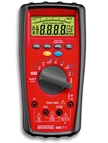 Benning MM 7-1 Digital-Multimeter TRUE-RMS, 044085