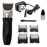 PetHot Dog Grooming Clippers Low Noise Cordless Pet Dogs and Cats Hair Shaver Electric Clippers Grooming Trimming Kit