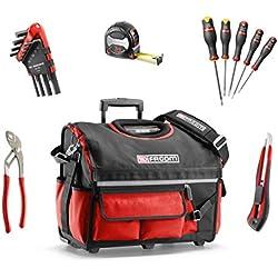 Facom BS. r20cmwb Werkzeugkasten Textil mit 23Werkzeugen, Schwarz
