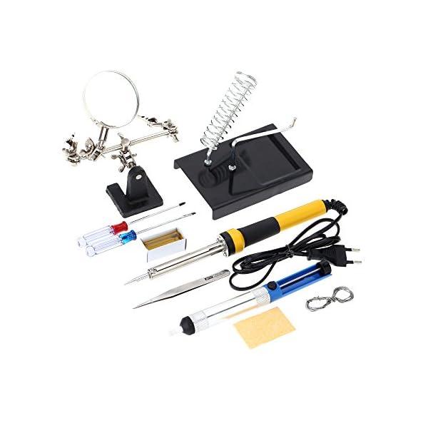 KKmoon soldador FZ606220V-240V 60W, 10pcs herramientas multiuso