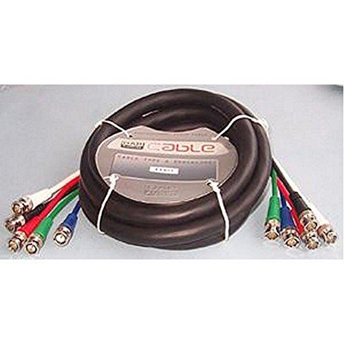 5x BNC P zu P Blei 150cm Stecker Typ A BNC Plug, X 5Stecker Typ B BNC Plug, X 5Blei Länge 1,5m Koaxial Typ RGB Farbe schwarz Impedanz 75Ohm Professional RGB Video Blei mit 75? Koaxial Kabel mit reinen Kupferleiter und BNC Stecker, inkl. Sync Anschlüsse. - Rgb-koaxial