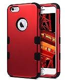 iPhone 6 Coque, ULAK iPhone 6s Coque 3en1 Étui Impact Hybride Antichoc en Silicone...