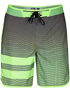 Hurley Phantom Block Party Hyperweave Speed, Man, Color: Black, Size: 32