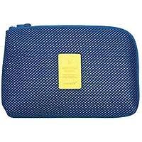 Providethebest Paquete de viaje Datos del cable del cargador bolsa de almacenamiento de energía móvil de la bolsa del bolso L azul 22 * 15cm