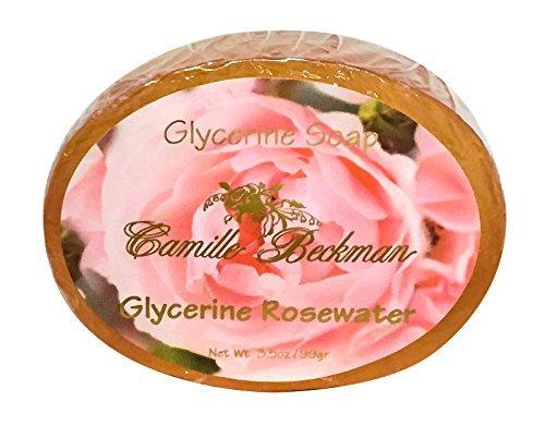 Camille Beckman Glycerin (Camille Beckman Glycerine Soap 3.5 Oz, Glycerine Rosewater by Camille Beckman)