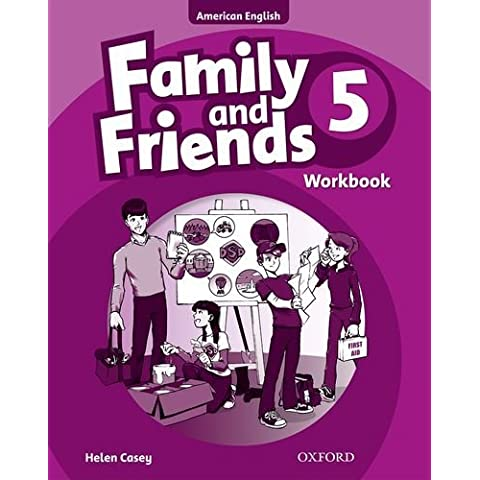 Family and Friends American Edition: 5: Workbook: 5 by Naomi Simmons (2010-09-02)