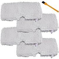 Honfa Shark Steam Pocket Mops Pads(4 packs),Microfiber Steam Cleaner Pads For Shark S2901 S3501, S3601, S3550, S3901, S3801, SE450 Steam Mops