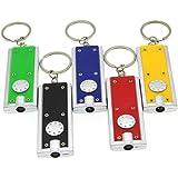 Uonlytech LED sleutelhanger zaklamp lichte mini zaklamp draagbare sleutelhanger zaklamp mini sleutelhanger zaklamp zaklamp 6