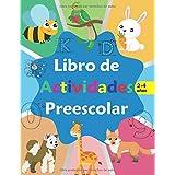 Libro de actividades preescolar: libro de Actividades en Casa 2-4 años, Aprender a repasar lineas, aprender a escribir número
