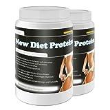 New Diet Protein! 2x400g Diätdrink Straffen Gewichtsreduktion Molke und Erbsenprotein
