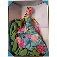 Water Lily Barbie Doll Claude Monet Limited Edition (1997) - Strass Floreali Collana Orecchini