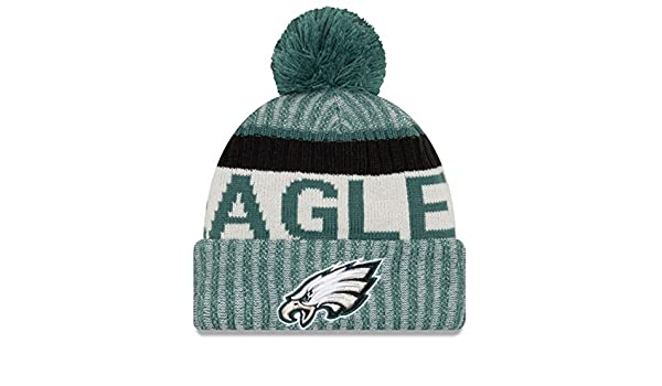 New Era - Philadelphia Eagles - NFL - Sport Knit - Bobble Hat  Amazon.co.uk   Clothing 340dbac0f38