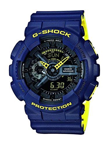 G-Shock Herren Armbanduhr GA-110LN-2AER (G-shock-watch-gelb Und Schwarz)