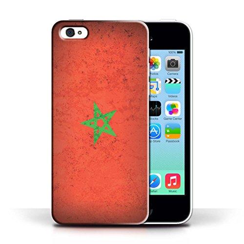 Stuff4 Hülle / Case für Apple iPhone 6 / Senegal/Senegalese Muster / Afrika Flagge Kollektion Marokko/Marokkanisch