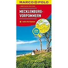 MARCO POLO Karte Deutschland Blatt 2 Mecklenburg-Vorpommern 1:200 000 (MARCO POLO Karten 1:200.000)