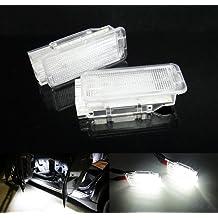2 x LED tronco en el automóvil para puerta Interior Luz 206, 207, 307