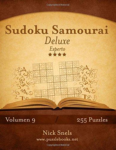 Sudoku Samurai Deluxe - Experto - Volumen 9-255 Puzzles: Volume 9