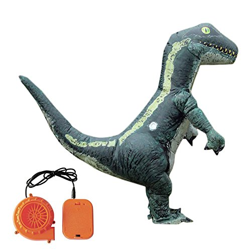 Lembeauty Disfraz Hinchable de Dinosaurio para Disfraz de Dinosaurio, Ropa Hinchable, Disfraz de Dinosaurio Verde para Halloween, Fiesta, Disfraces, Carnaval, Desfile