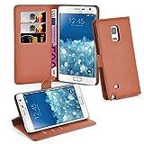 Samsung Galaxy NOTE EDGE Hülle in BRAUN von Cadorabo -
