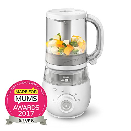 Philips Avent SCF875/01 4-in-1 Healthy Baby Food Maker
