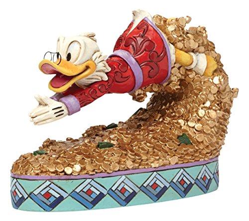 Disney Traditions 4046055 Scrooge McDuck Figurine Schatz Tauchen 12,5 ()