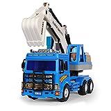 GAO Auto Giocattolo Grande Escavatore inerziale Escavatore Escavatore per Bambini (44 * 23 * 13,5 cm)