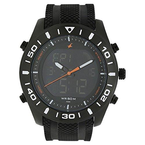 Fastrack Analog-Digital Black Dial Men's Watch - Fastrack-38034np01