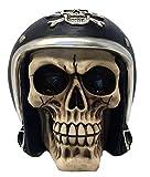 Unbekannt Totenkopf mit Motorradhelm - Skull, Motorrad, Fantasy