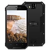 Smartphone Débloqué 3G, Blackview BV4000pro Téléphone Portable Debloqué(Ecran: 4.7 Pouces - 2Go+16Go -Dual Micro SIM - Android 7.0 - MT6580A Quadcore 1.3GHz - Batterie 3680mAh - Caméra 8M&2MP)NOIR2