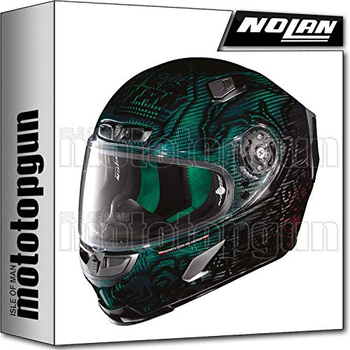 X-LITE CASCO MOTO INTEGRALE X-803 ULTRA CARBON REPLICA C. STONER SUPERHERO 018 M
