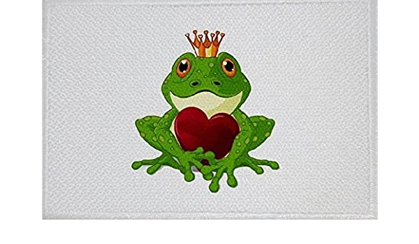 U24 Aufnäher Frosch Motiv Nr. 21 Fahne Flagge Aufbügler Patch 9 x 6 ...