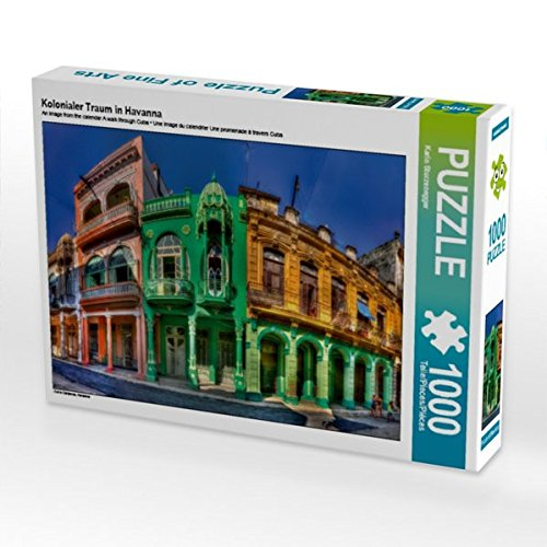Kolonialer Traum in Havanna 1000 Teile Puzzle quer (CALVENDO Orte)