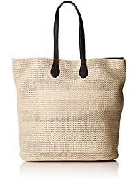 PIECES Pclibine Straw Bag, Henkeltasche Donna