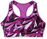 adidas Damen Racer-Back Printed Sport-Bh, Shock Purple, M/AB