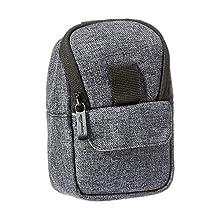 AmazonBasics Camera Case – Quality Water-resistant Polyester – Ash Grey