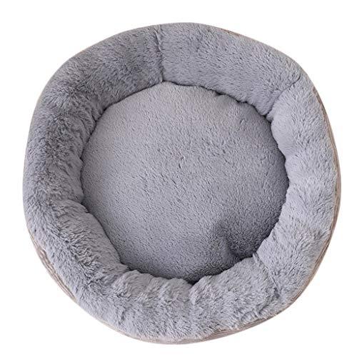 LOSVIP Herbst und Winter Haustier Produkte Neu,Haustier Hundekatzen Bett weiche warme(Grau,60x17cm)