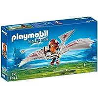 Playmobil Guerriero con Deltaplano, 9342