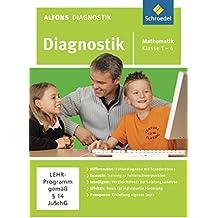 Alfons Diagnostikprogramme - Ausgabe 2011: Diagnostik Mathematik 1 - 4