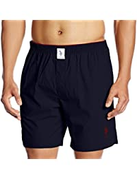 US Polo Association Men's Plain Cotton Boxer