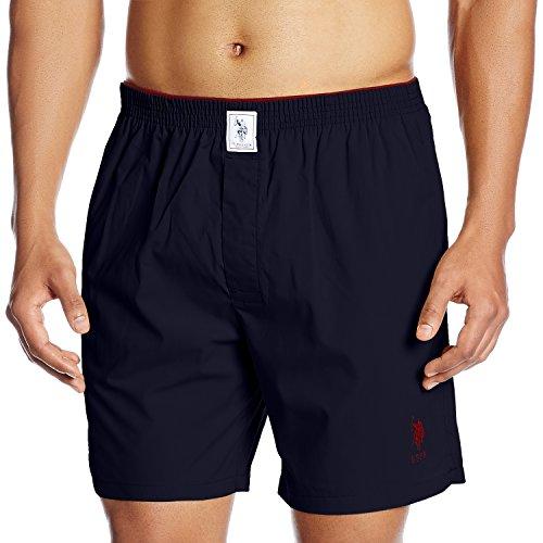 U.S. Polo Assn. Men's Cotton Boxer (8907686184746_I108_Large_Sailor Navy)