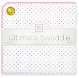 Best HALO Swaddle Blankets - SwaddleDesigns Ultimate Swaddle Blanket, Premium Cotton Flannel, Classic Review