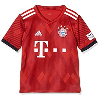 adidas Kinder 18/19 FC Bayern Home Trikot FCB True Strong red/White, 152
