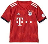 adidas Kinder 18/19 FC Bayern Home Trikot, FCB True Strong red/White, 164